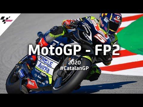 MotoGP カタルーニャGP。2020年のMotoGPはどのライダーにも優勝のチャンスが。金曜日に行われたプラクティス走行2のハイライト動画