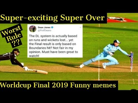 Super over worldcup 2019 | england vs new zealand | worldcup final 2019