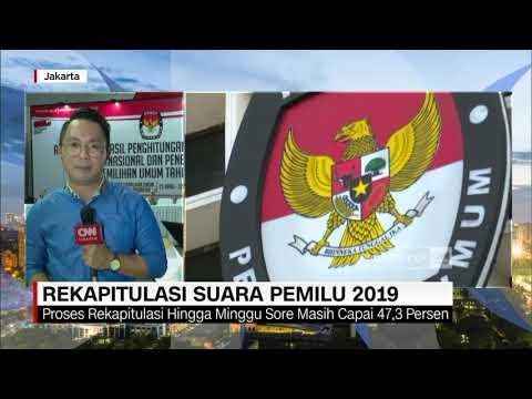 Live Report: Update Rekapitulasi Pemilu 2019