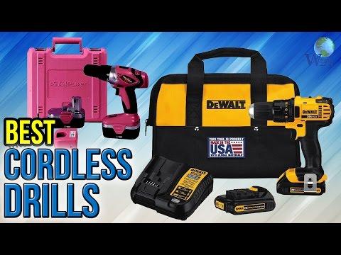10 Best Cordless Drills 2017