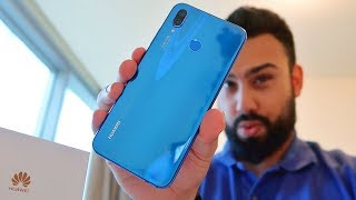 Huawei Nova 3e (P20 Lite) UNBOXING and FIRST LOOK !!!