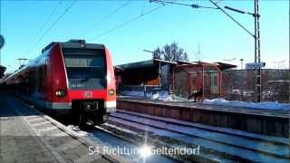 preview picture of video 'Eichenau - Münchner S-Bahn - ⛄'