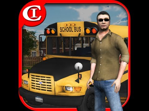 Video of Crazy School Bus Driver 3D