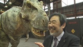 二足歩行するリアルな恐竜を制作 「ON―ART」社長 金丸賀也さん