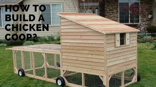 How To Build A Chicken Coop / Build A Chicken Coop Plan For 10 Chickens / Chicken Coop For Backyard