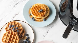 Air Fryer Frozen Waffles - Crispy & Delicious