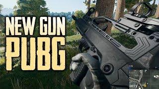 NEW Gun in PUBG! | Playerunknown