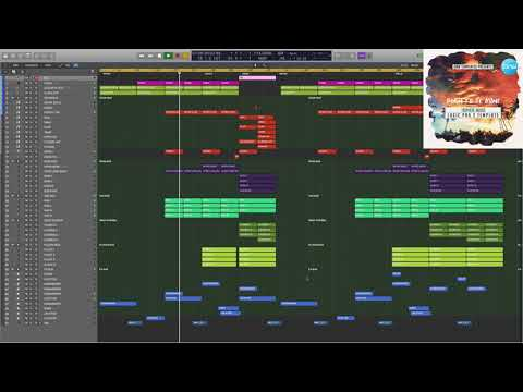 Tropical House Logic Pro X Template Born To Be Mine
