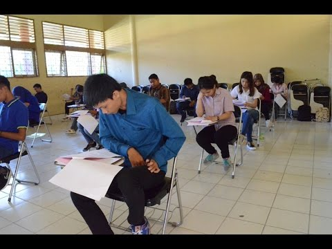 Dok Humas Untad, Penyerahan Naskah dan Pelaksanaan Ujian SMMPTN 14 Juli 2016