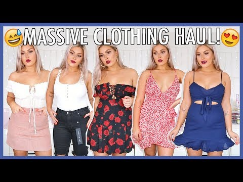 HUGE SPRING & SUMMER CLOTHING HAUL! 💸💕 $1500 Try On Haul!