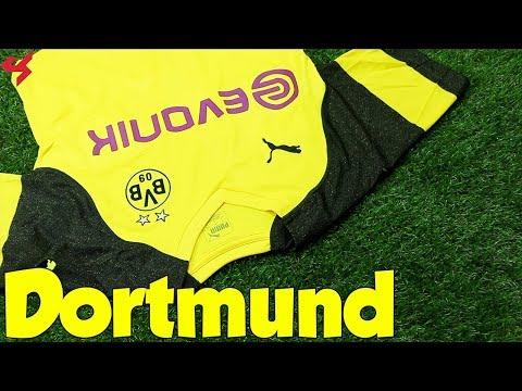 Puma Borussia Dortmund 2018/19 Home Jersey Unboxing + Review