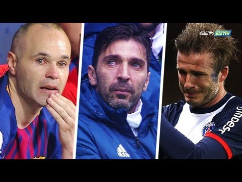 15 Perpisahan Pemain Paling Mengharukan Dalam Dunia Sepakbola