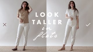 How to Look Taller & Slimmer – Petite Tips for Wearing Flats | Dearly Bethany