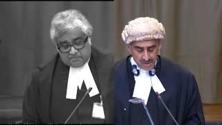 ICJ Hearing recap