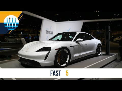 The 4 BEST and WORST things about the PORSCHE TAYCAN | FAST 5