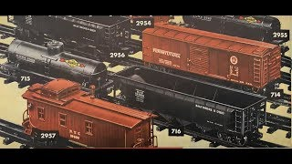 Classic Lionel Trains - Scale Freight Cars 1940-1942