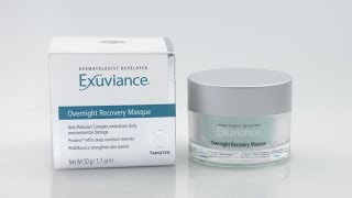 How to - Exuviance Overnight Recovery Masque