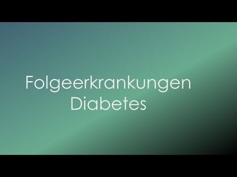Wird man von Diabetes Methode loswerden