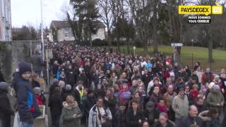 preview picture of video 'Je suis Charlie Manifestation a Ferney Voltaire'