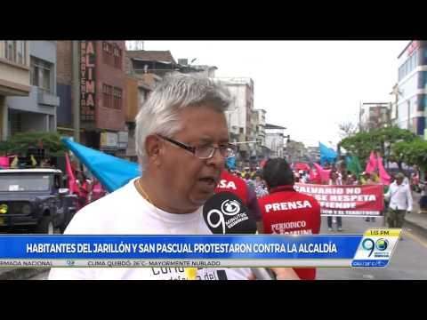 Habitantes del Jarillón y San Pascual realizaron jornada de protestas