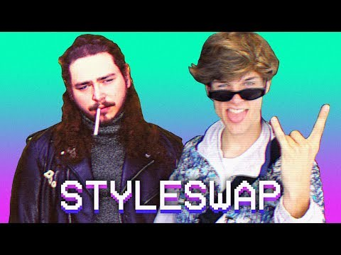 """Guy does an amazing impression of what """"Post Malone - Better Now"""" would sound like if it was an 80's hit"""