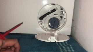 Waschmaschine Wassern ablassen und Notentrieglung Bosch WVG30442 Serie 6 Waschtrockner Anleitung