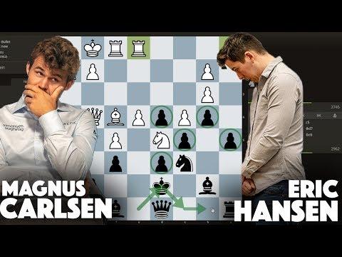 , title : 'Magnus Carlsen vs Eric Hansen: Bullet Chess'