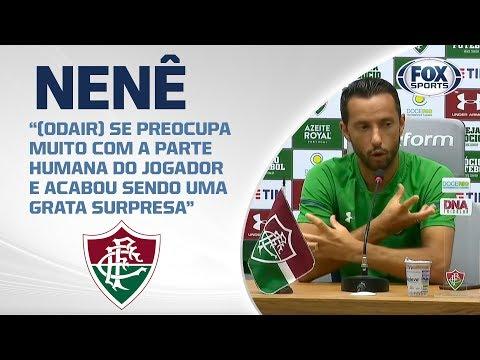 FLUMINENSE AO VIVO! Nenê concede entrevista coletiva direto do CT Carlos José Castilho