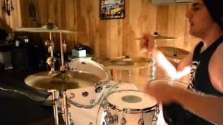 Broken Circuit - The Word Alive - Zach Ziomek (DRUM COVER) HD
