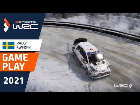 サミ・ジョーのウィニングラン。E-sports WRC2021 スウェーデン ハイライト動画