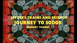 Jaydee's Trains and Friends Journey to Sodor Sensory Tunnel