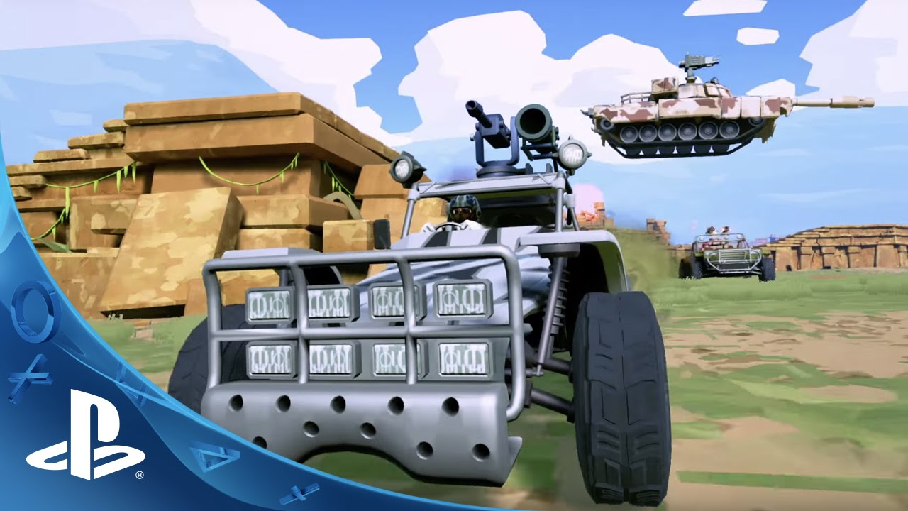 Hardware: Rivals Brings Vehicular Mayhem to PS4 on January 5th