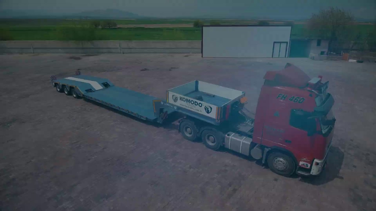 3 Axle Extendable Lowloader