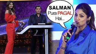 Shilpa Shetty Calls Salman Khan PAGAL in Front Of Media | Dus Ka Dum