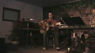 """Singer-Songwriter Christopher Harris singing a song he wrote called """"Move On."""""""