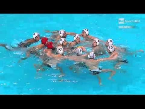 pallanuoto campionati europei 2016  Germania Italia 11 gennaio 2016