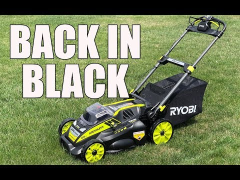 RYOBI 20 Inch 40V Self Propelled Lawn Mower RY40190 – Review