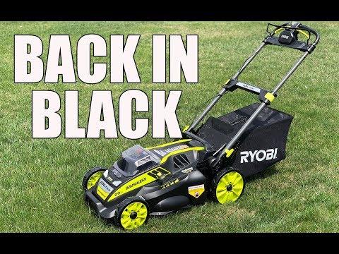 RYOBI 20 Inch 40V Self Propelled Lawn Mower RY40190 – Review