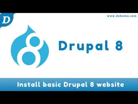 Drupal 8   Install basic website on Ubuntu 16