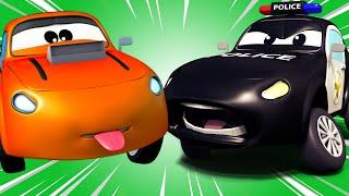Авто Патруль - Авто Патруль - Автомобильный Город  🚓 🚒 детский мультфильм