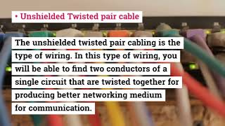 What is Network Cabling and Its Popular Types?
