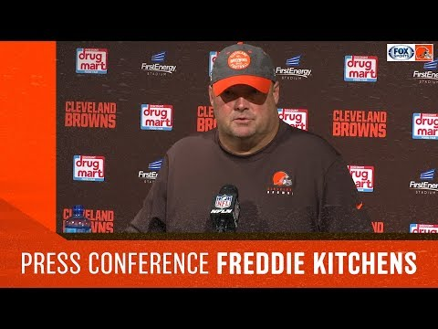 Freddie Kitchens Postgame: Seattle Seahawks at Cleveland Browns
