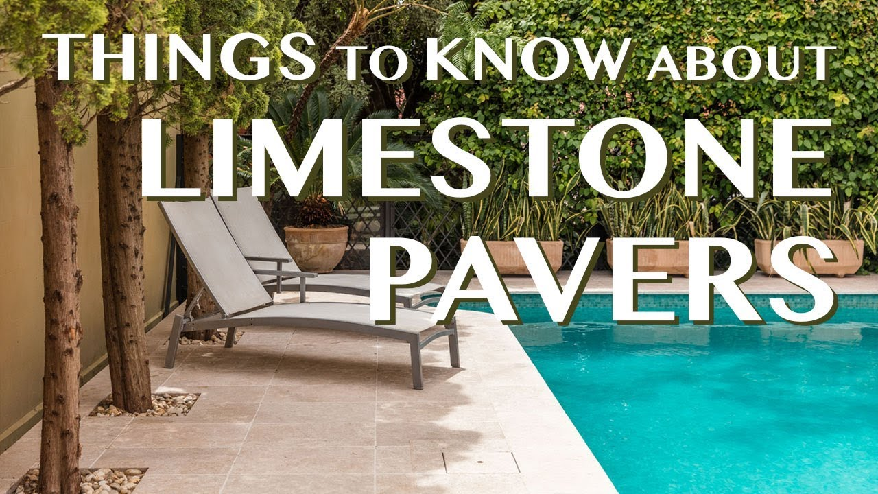 Limestone Pavers: Things to know about Limestone Pavers