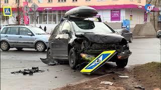 В Великом Новгороде случилось сразу несколько ДТП