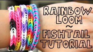 Rainbow Loom Tutorial: Fishtail!