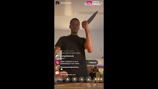 "Brett Gray from ""On My Block"" funny Instagram Live! 🤣"