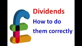 Dividends - How to do them correctly - Barnsley Accountant