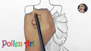 Easy Drawings, How To Sketch Fashion Designs Short Dress