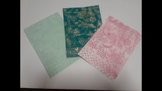 EMBOSSING FOLDER TIPS AND TRICKS!!!