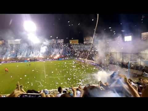"""""""Recibimiento Atlético Tucumán vs Boca 2016"""" Barra: La Inimitable • Club: Atlético Tucumán"""